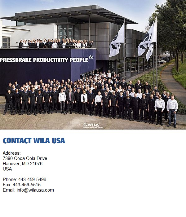 WILA USA contacts